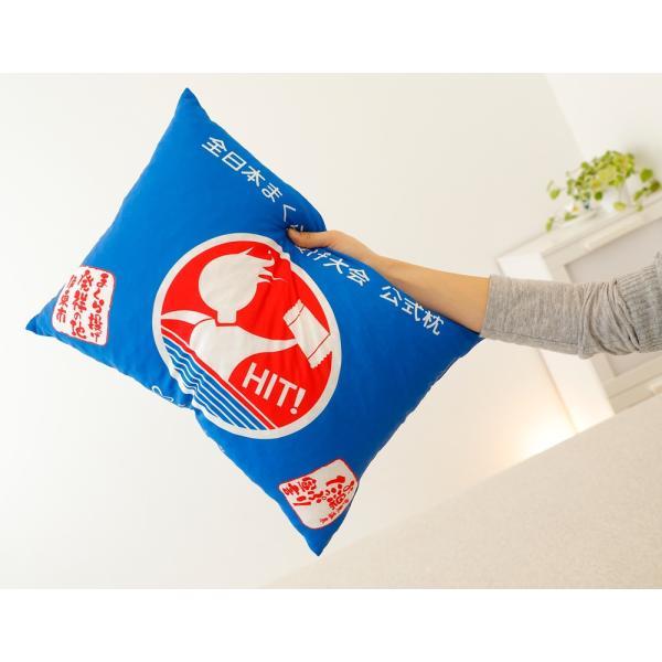 全日本まくら投げ大会 公式枕 まくら投げ専用枕 35×50センチ 枕投げのために開発された枕|makura|02