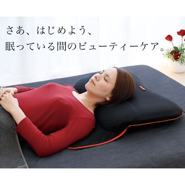 枕 まくら ザ・ピロー ビューティー 専用枕カバー & 高さ調節シート付 横向き 洗える 眠っている間のビューティーケア枕 送料無料|makura|13