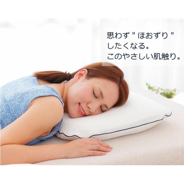 高反発枕 まくら ザ・ピロー 専用カバー&高さ調節シート付き 約 60×43 cm 横向き 肩こり 首こり 寝返り安眠枕 洗える 横向き枕 送料無料|makura|09
