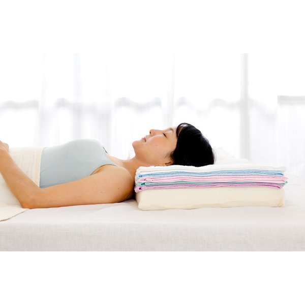 今治バスタオルピロー バスタオル5枚+専用ピローベース 今治産のバスタオルを使用したタオル好きのための枕|makura|12