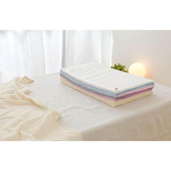 今治バスタオルピロー バスタオル5枚+専用ピローベース 今治産のバスタオルを使用したタオル好きのための枕 makura 07