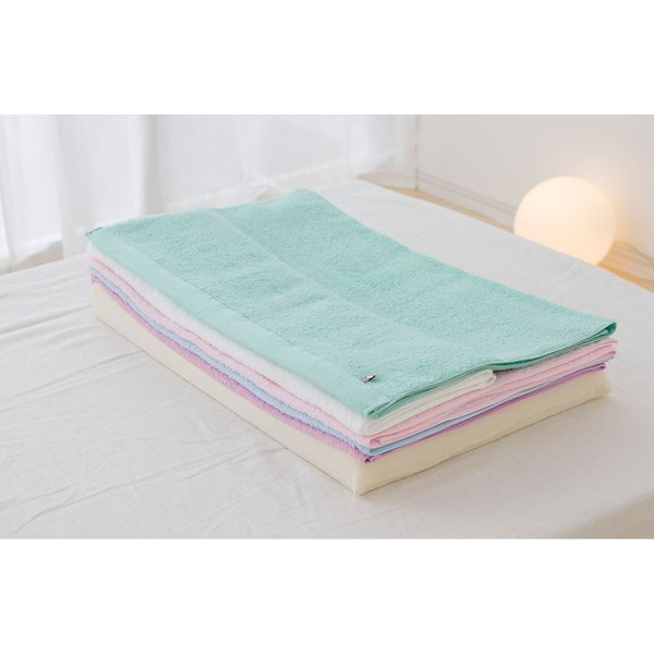 今治バスタオルピロー バスタオル5枚+専用ピローベース 今治産のバスタオルを使用したタオル好きのための枕 makura 09