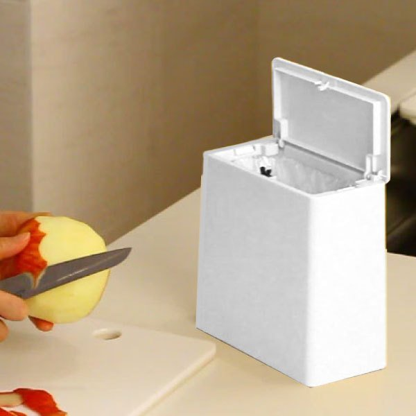 ゴミ箱 おしゃれ キッチン用 スリム リビング用 蓋付き フタ付き ダストボックス ごみ箱 トイレ用 生ゴミ ( ideaco TUBELOR mini flap チューブラー )|mamachi|04