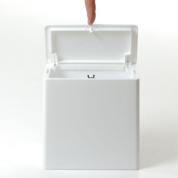 ゴミ箱 おしゃれ キッチン用 スリム リビング用 蓋付き フタ付き ダストボックス ごみ箱 トイレ用 生ゴミ ( ideaco TUBELOR mini flap チューブラー )|mamachi|05