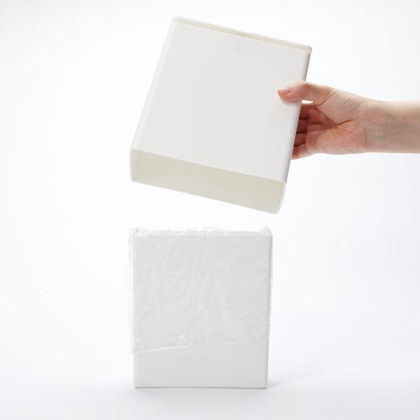 ゴミ箱 おしゃれ キッチン用 スリム リビング用 蓋付き フタ付き ダストボックス ごみ箱 トイレ用 生ゴミ ( ideaco TUBELOR mini flap チューブラー )|mamachi|06