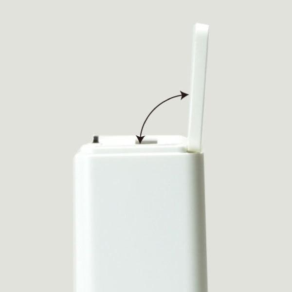ゴミ箱 おしゃれ キッチン用 スリム リビング用 蓋付き フタ付き ダストボックス ごみ箱 トイレ用 生ゴミ ( ideaco TUBELOR mini flap チューブラー )|mamachi|08