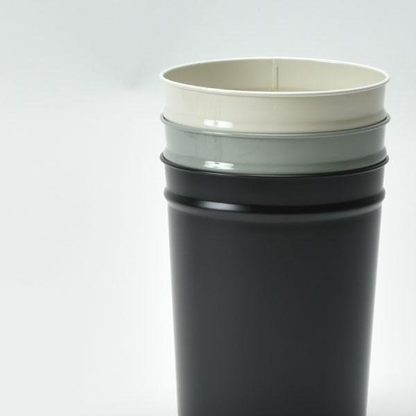 ゴミ箱 おしゃれ キッチン用 スリム リビング用 ダストボックス 丸型 ごみ箱 トイレ用 日本製 スチール製 ( ぶんぶく テーパーバケット 小 )|mamachi|12