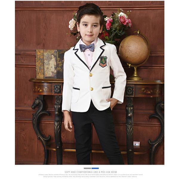 c5f2f6719c78b ... 子供スーツ 男の子 女の子 子供フォーマル スーツ 制服 100 110 120 130 140 150 160 卒業 ...