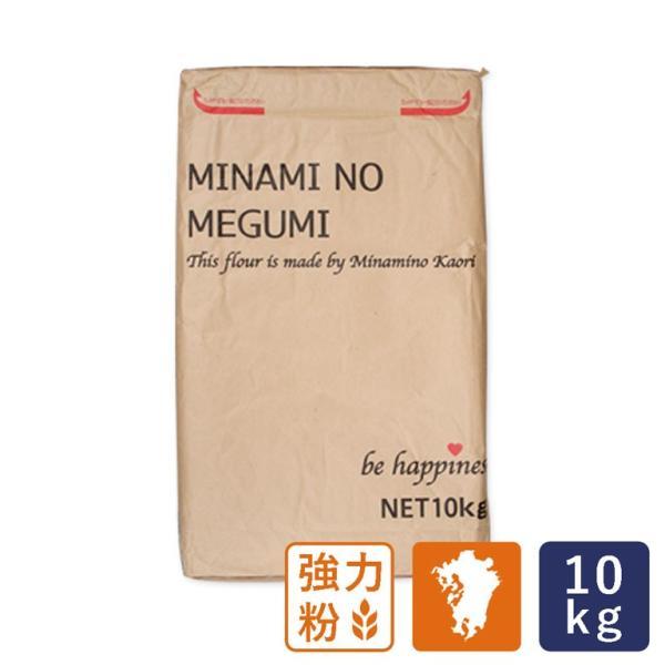 強力粉 南のめぐみ 九州産 国産パン用小麦粉 業務用 10kg 国産小麦粉 熊本産
