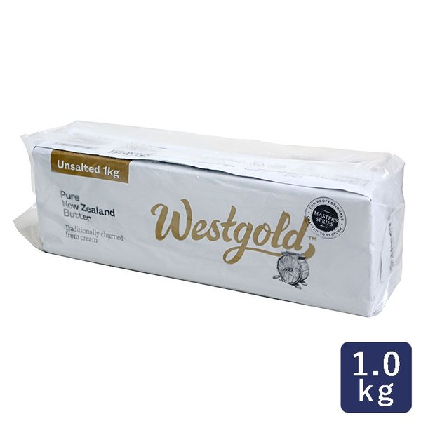NZ冷凍無塩 グラスフェッドバター 1kg 賞味期限2021年12月24日 食塩不使用