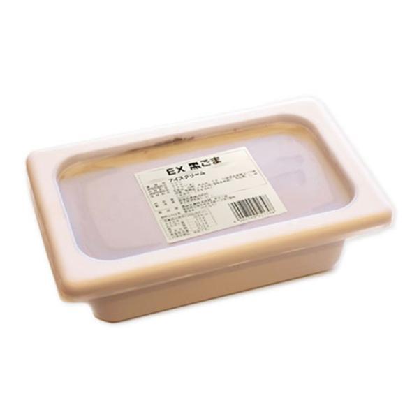 アイスクリーム 2L EX 黒ごま 森永 業務用 2000ml