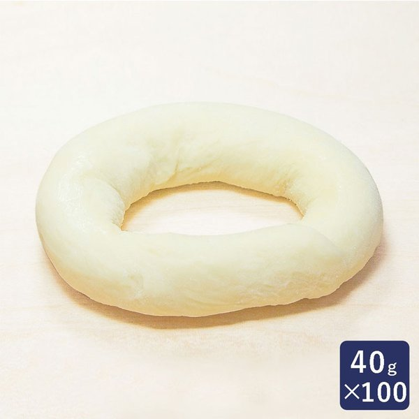 冷凍パン生地 リングドーナツ 1ケース 40g×100 ISM(イズム) 業務用
