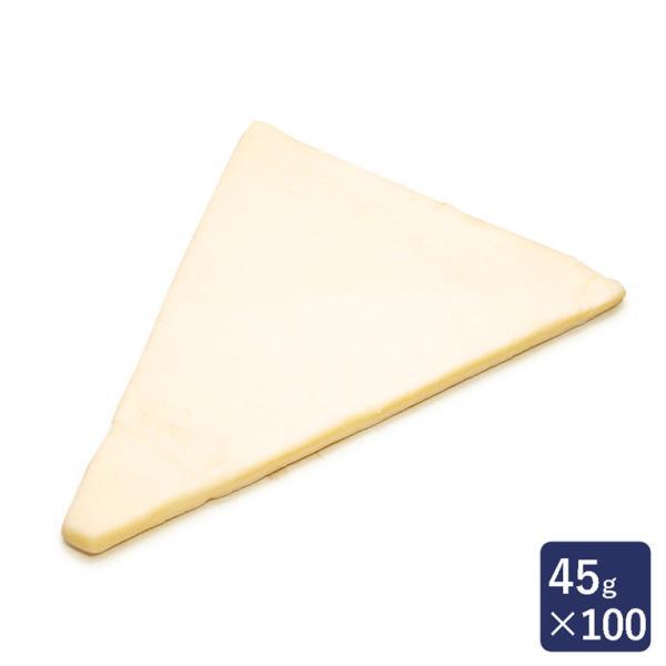 冷凍パン生地 発酵バタークロワッサン板 1ケース 45g×100 ISM(イズム) 業務用