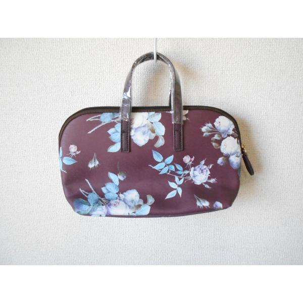未使用 ピンクハウス PINKHOUSE お花 プリント の 可愛い バッグ