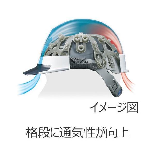 ヘルメット 作業用・工事用 谷沢製作所 タニザワ ST#1830-JZ 飛翔special エアライト|mamoru-k|03