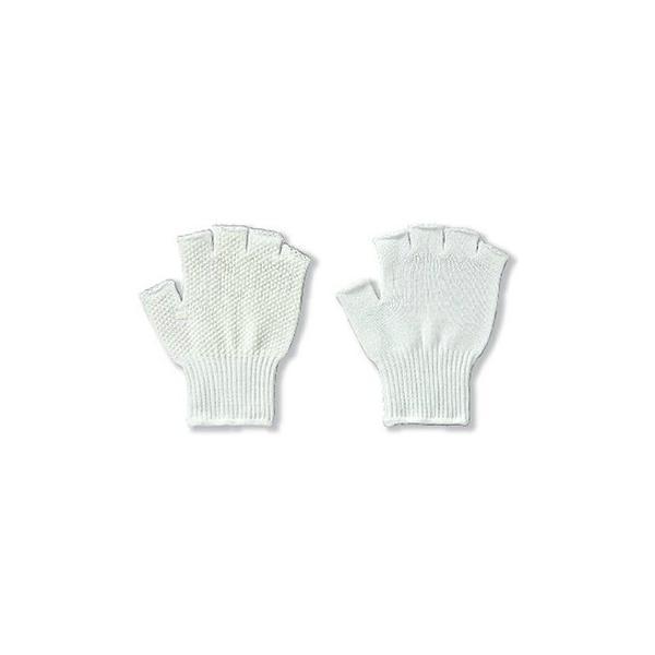 指切り手袋 ショートフィンガーサポート [5双入り] 品番:1813 アトム ATOM 作業手袋 指なし 指だし 滑り止め 10ゲージ(薄手) 流通作業 検品 事務作業 農作業