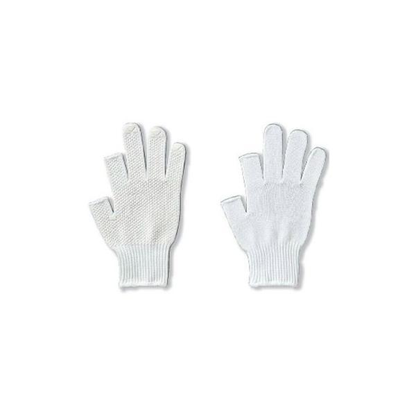 指切り手袋 ロングフィンガーV 2本指カット [5双入り] 品番:1815 アトム ATOM 作業手袋 指なし 指だし 滑り止め 10ゲージ(薄手) 流通作業 検品 事務作業 農作