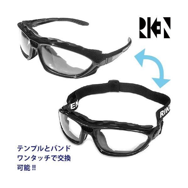 保護メガネ 二眼式 理研オプテック RV-710|mamoru-k