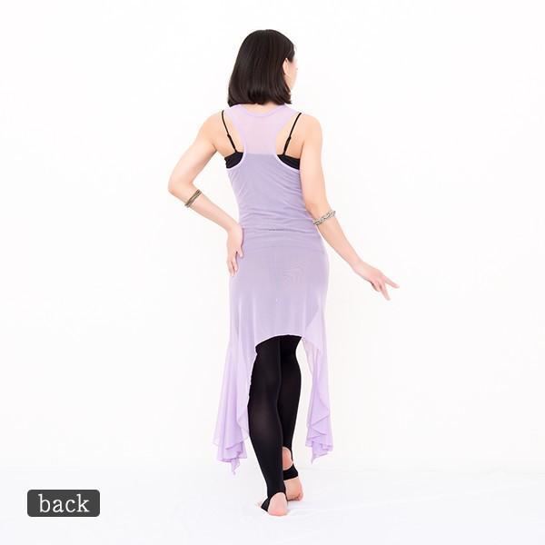 ベリーダンス 衣装 セット ブリーズワンピース( 全3色 ) | ベリーダンス 衣装 レッスン着 レッスンウェア ワンピース スカート レディースファッション|manasmana|02