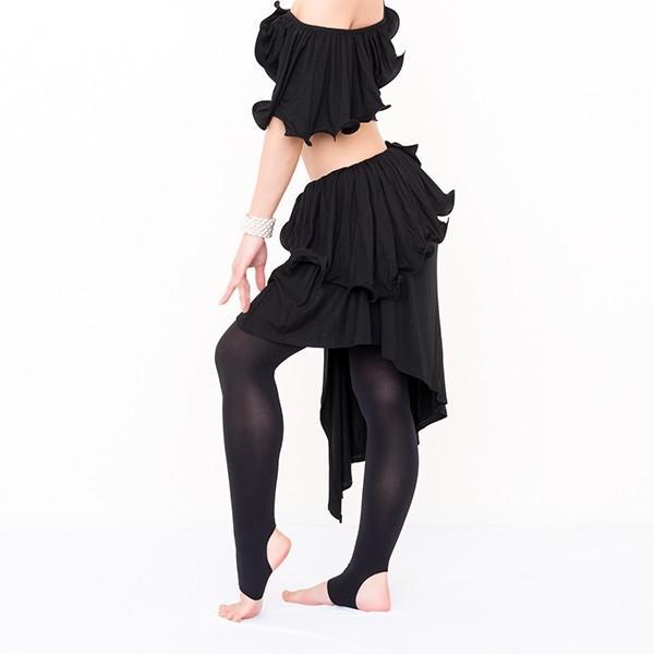 ベリーダンス 衣装 セット アリュールスタイル 2点セット ( 全3色 ) | ベリーダンス 衣装 セット スカート レッスン着 レッスン トップス レ|manasmana|17