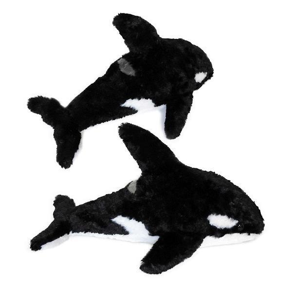 シャチ ぬいぐるみ 雑貨 水族館グッズ A-SHOW ふあふあシリーズ オルカ 35cm まんぼう屋ドットコム manbouya 02