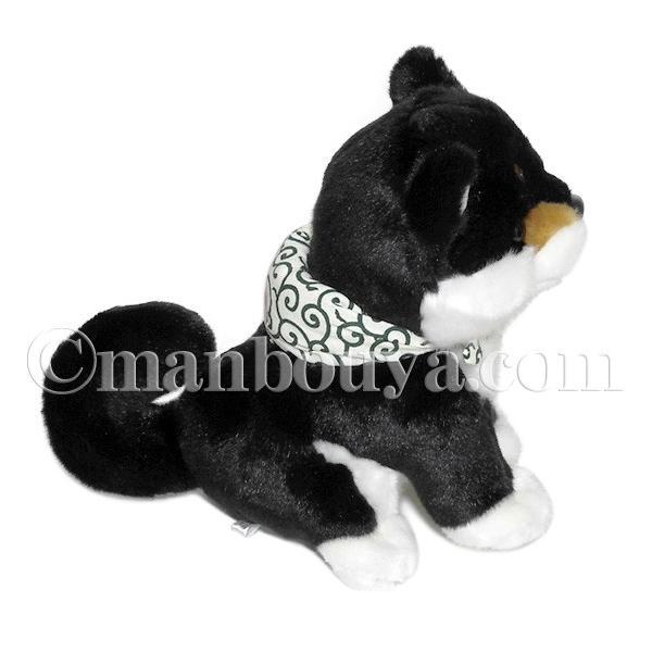 犬のぬいぐるみ 柴犬 キュート販売 CUTE 黒豆柴 座りM 23cm ブラック【日本】まんぼう屋ドットコム|manbouya|03