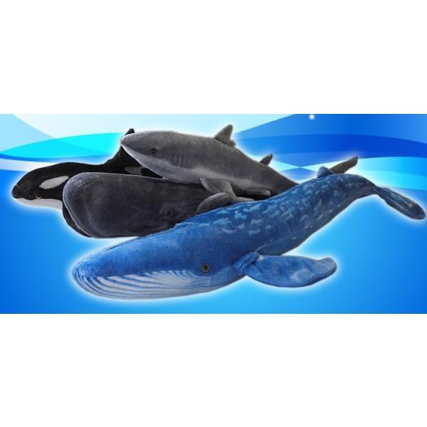 くじらのぬいぐるみ クジラグッズ 雑貨 トスダイス シーアニマルコレクション マッコウ鯨 60cm まんぼう屋ドットコム manbouya 05