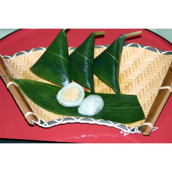 京料理 萬長 笹巻生麩饅頭10個セット 白味噌柚子風味餡10個|mancho|02