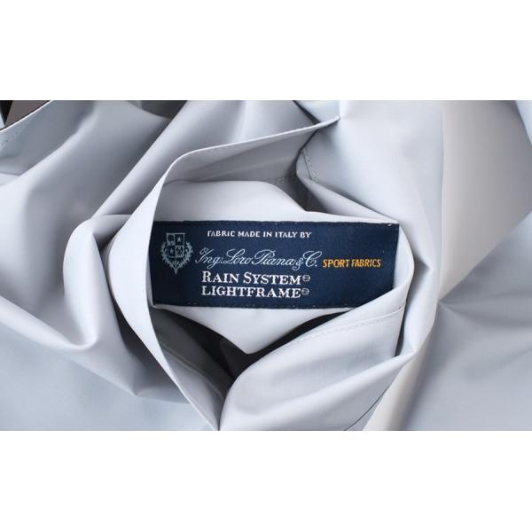 KIRED 【キーレッド】 リバーシブル スプリングコート - ロロ・ピアーナ レインシステム - ・mod. BEN GL ・col. クラウドグレー×グレイッシュブラウン|mandm-website|07