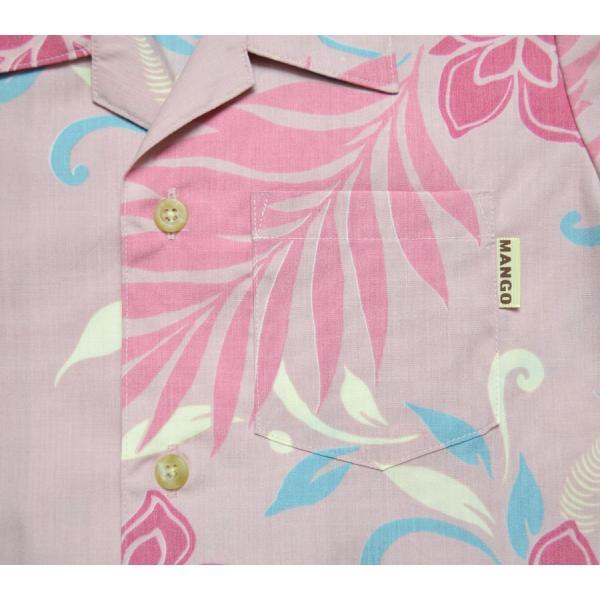 120cm~140cm キッズかりゆしウェア(沖縄アロハシャツ)シダヤンバルクイナMANGO|mangoplus|04