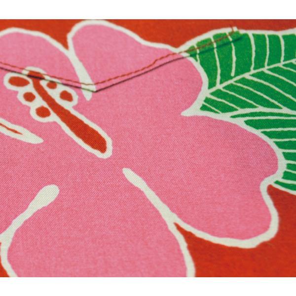 120cm~140cm キッズかりゆしウェア(沖縄アロハシャツ)ハイビー総柄 MANGO|mangoplus|09