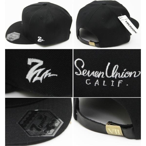 7UNION セブンユニオン メンズ 帽子 7UB-718 ADD 7UNION CALIF.|maniac|02