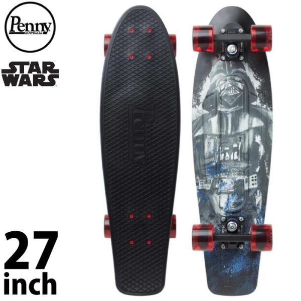 """Penny Skateboard ペニー スケートボード STAR WARS DARTH VADER 27"""" COMPLETE 27インチ ミニクルーザー スケボー コンプリート maniac"""