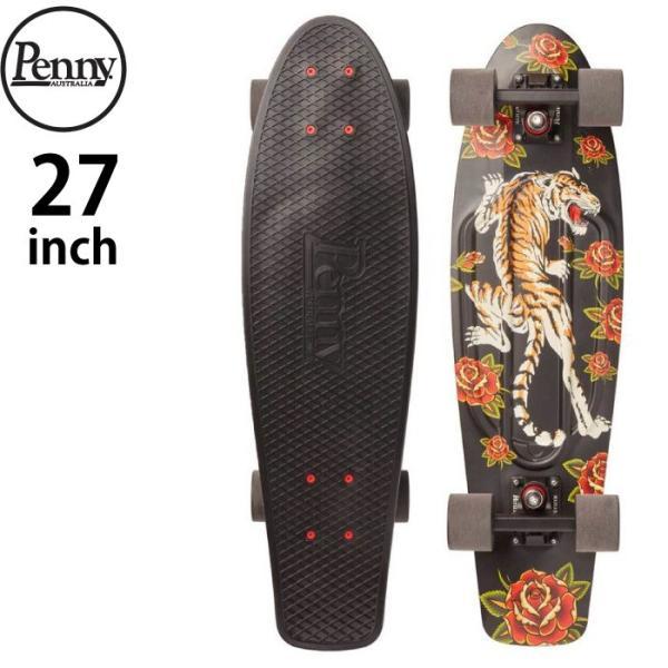 "Penny Skateboard ペニー スケートボード GRAPHICS Complete 27"" TIGER BLOOM ミニクルーザー maniac"