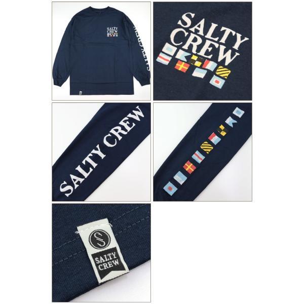 SALTY CREW ソルティークルー メンズ Tシャツ 20135035 Signals L/S Tee ロングスリーブ ロンT|maniac|02