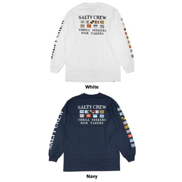 SALTY CREW ソルティークルー メンズ Tシャツ 20135035 Signals L/S Tee ロングスリーブ ロンT|maniac|03
