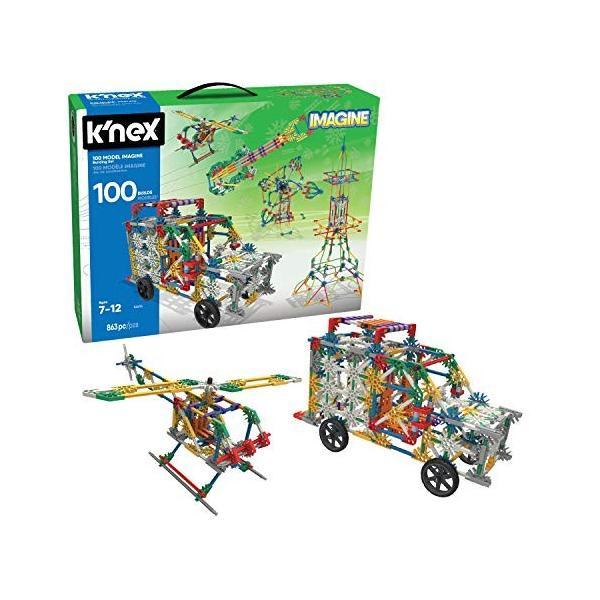 ケネックスK'NEX 100 Model Imagine Building Set (Amazon Exclusive)