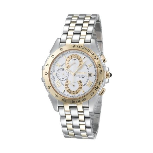腕時計セイコーメンズSPC044SeikoMen'sSPC044LeGrandSportDualChronographWatch