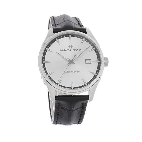 当店1年保証 ハミルトンHamilton Jazzmaster Silver Dial Men's Watch H32451751|maniacs-shop|01
