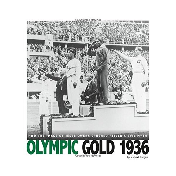海外製絵本 知育 英語 Olympic Gold 1936: How the Image of Jesse ...