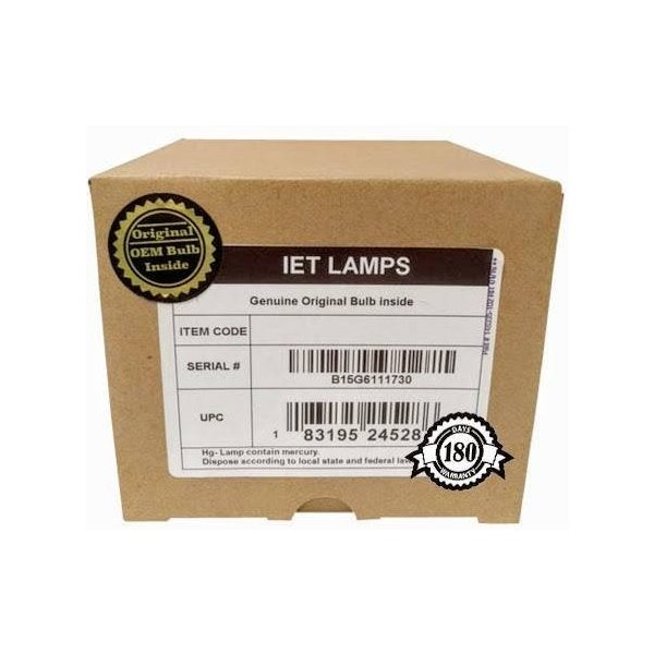 Genuine Original Replacement Bulb//lamp with OEM Housing for INFOCUS M1 Projector Philips Inside IET Lamps