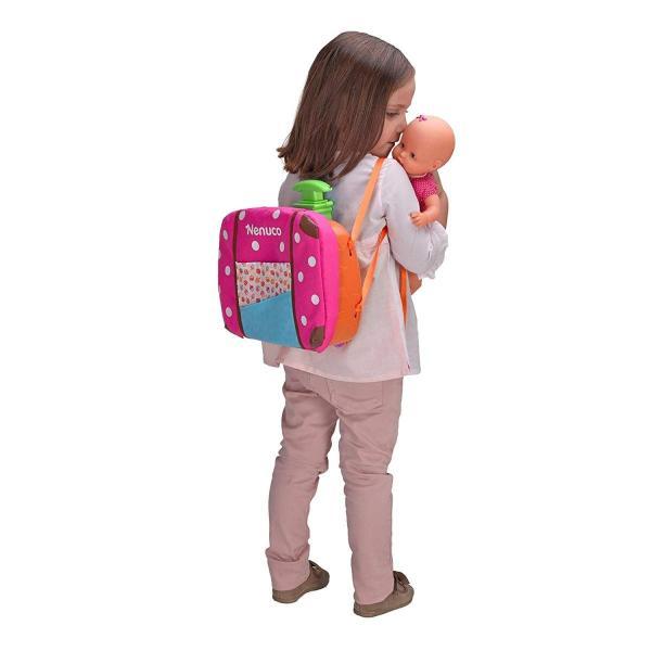 Nenuco 70001379135 Inch DollMy Travel Companion Pink Suitcase Accessories