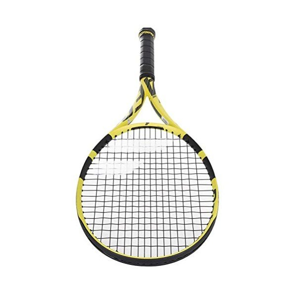 テニスBabolat 2019 Pure Aero Tennis Racquet - Choice of String Color and Quality (RPM Blast Black, 4-5/8)|maniacs-shop|01