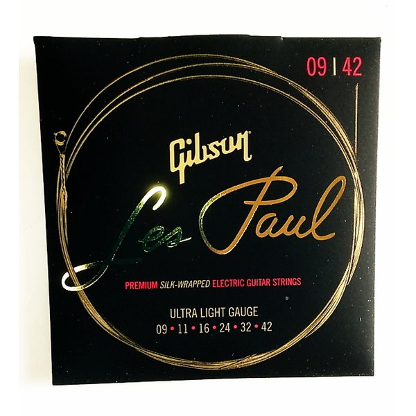 GibsonSEG-LES9LesPaulPremiumエレキギター弦Ultra-Light009-042ギブソン