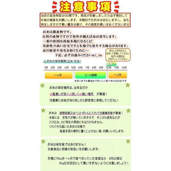 新米 ミルキー 10kg(5kg×2袋)  福島県産 お米 30年産 送料無料 『30年福島県産ミルキークイーン(白米5kg×2)』|manmayarice|05