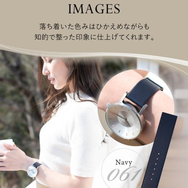 腕時計ベルト バンド レディース 交換 牛革 メンズ 20mm 18mm CASSIS SANDHAUSEN D1093087|mano-a-mano|07