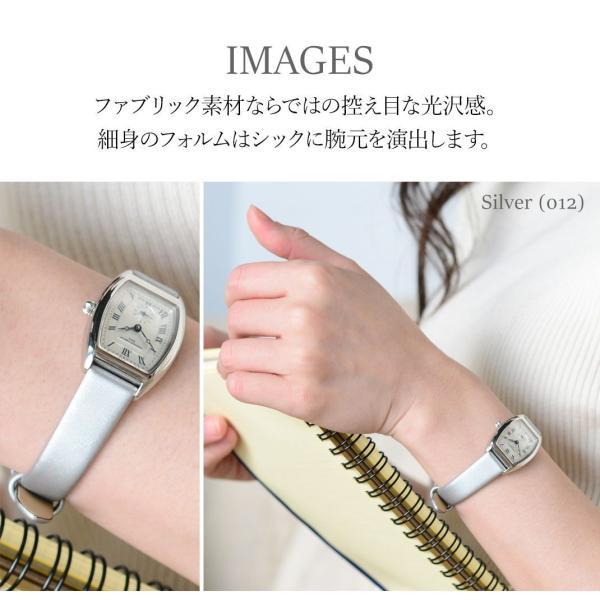 腕時計ベルト バンド レディース 交換 ファブリック 14mm 12mm CASSIS BERLIN D1094A74|mano-a-mano|06