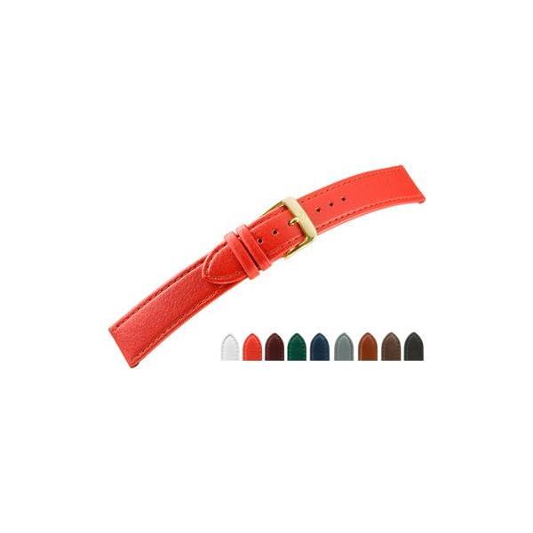 時計 ベルト 腕時計ベルト カーフ 牛革 D2660 10mm 11mm 12mm 13mm 14mm 15mm 16mm 18mm 時計 バンド 時計バンド 替えベルト 替えバンド ベルト 交換|mano-a-mano