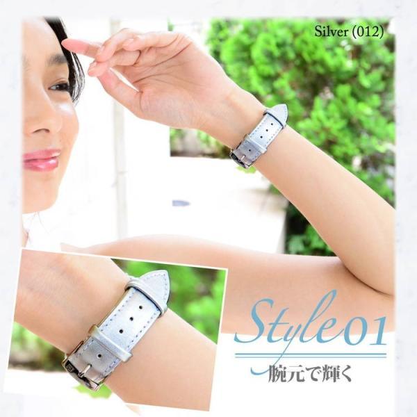 腕時計ベルト バンド レディース 交換 合成皮革 20mm 18mm 16mm MORELLATO TREND D5050C47 mano-a-mano 05