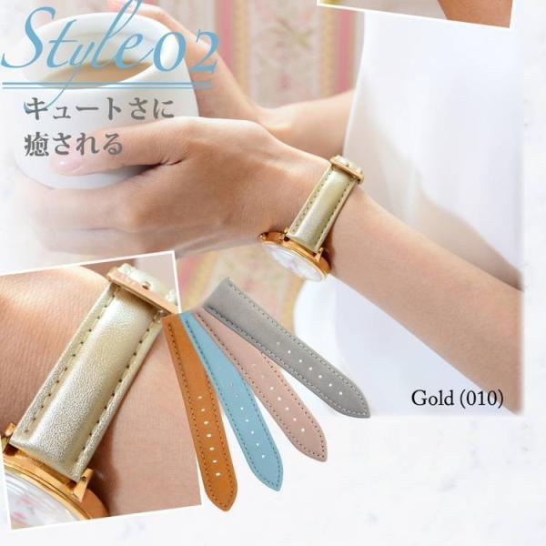 腕時計ベルト バンド レディース 交換 合成皮革 20mm 18mm 16mm MORELLATO TREND D5050C47 mano-a-mano 08